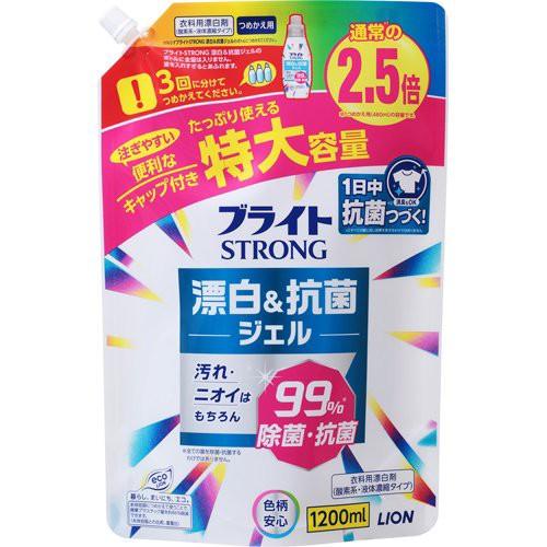 ブライトSTRONG 衣類用漂白剤 つめかえ用(1200ml)...