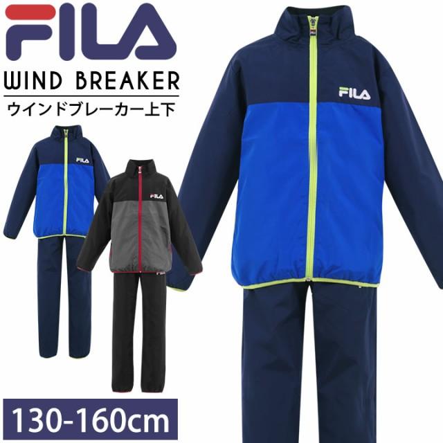 ◆フィラ FILA ウインドブレーカー 上下セット 男...