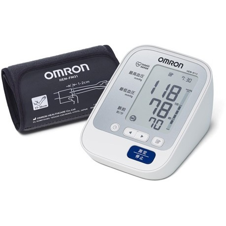 OMRON HEM-8713 [上腕式血圧計 (フィットカフ/血...