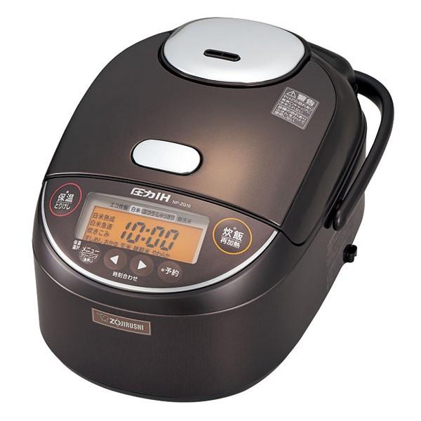 炊飯器 5.5合 象印 IH 圧力方式 NP-ZG10-TD ダー...