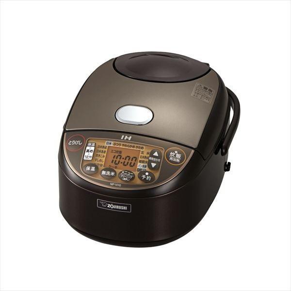 炊飯器 5.5合 象印 IH NP-VI10-TA ブラウン 極め...