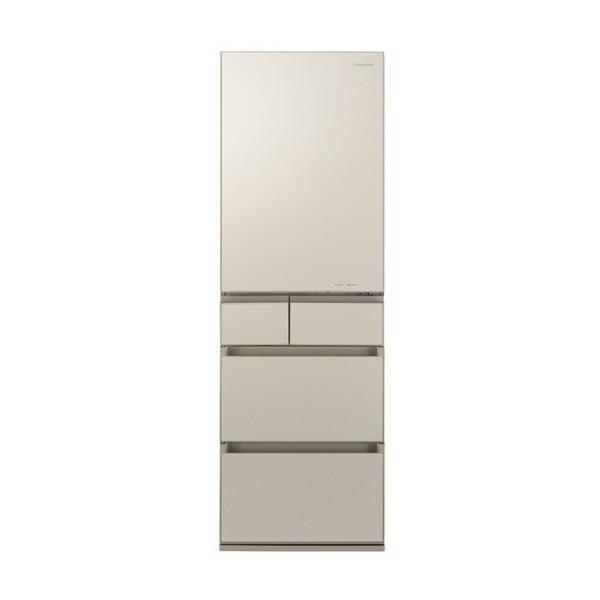 PANASONIC NR-E455PX-N サテンゴールド [冷蔵庫 (450L・右開き)]