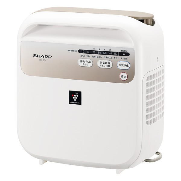 SHARP シャープ UD-CF1-W ホワイト [布団乾燥機 (...