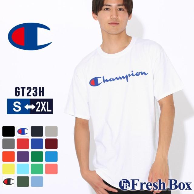 チャンピオン Tシャツ 半袖 クルーネック メンズ ...