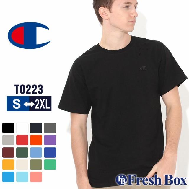 チャンピオン tシャツ メンズ 半袖 ブランド cham...