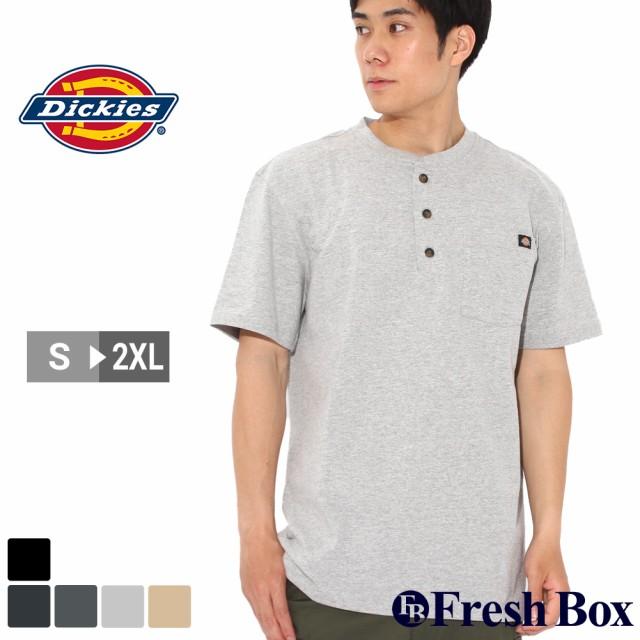 ディッキーズ Tシャツ 半袖 ヘンリーネック ヘビ...