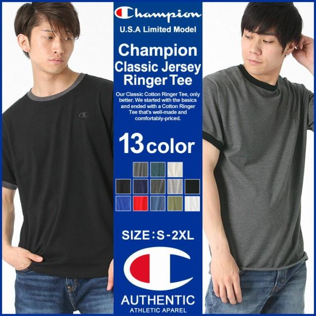 Champion チャンピオン tシャツ メンズ 半袖 ブラ...