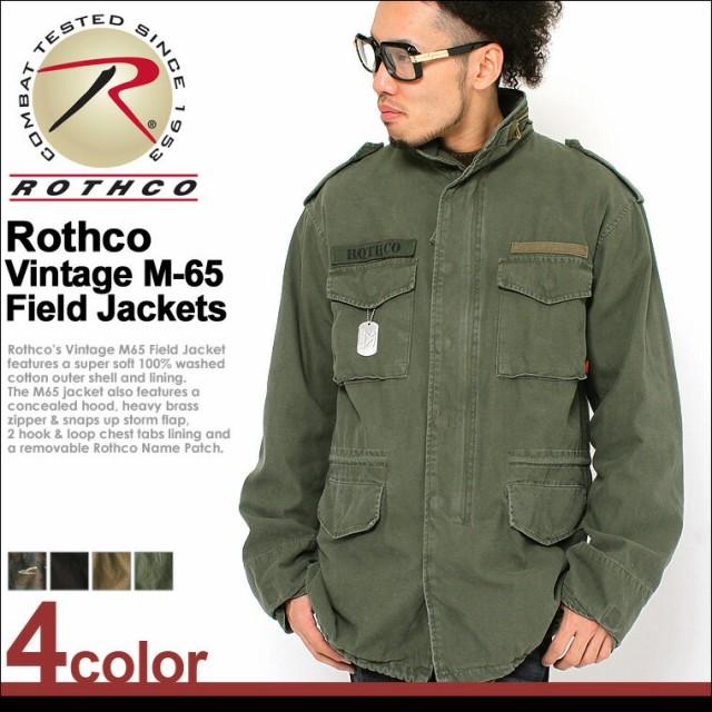 ロスコ ROTHCO ロスコ m65 ミリタリージャケット ...