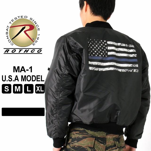 ロスコ MA-1 メンズ フライトジャケット 大きいサ...