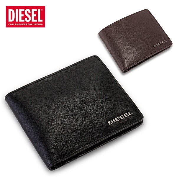 ディーゼル Diesel 財布 メンズ 二つ折り財布 レ...