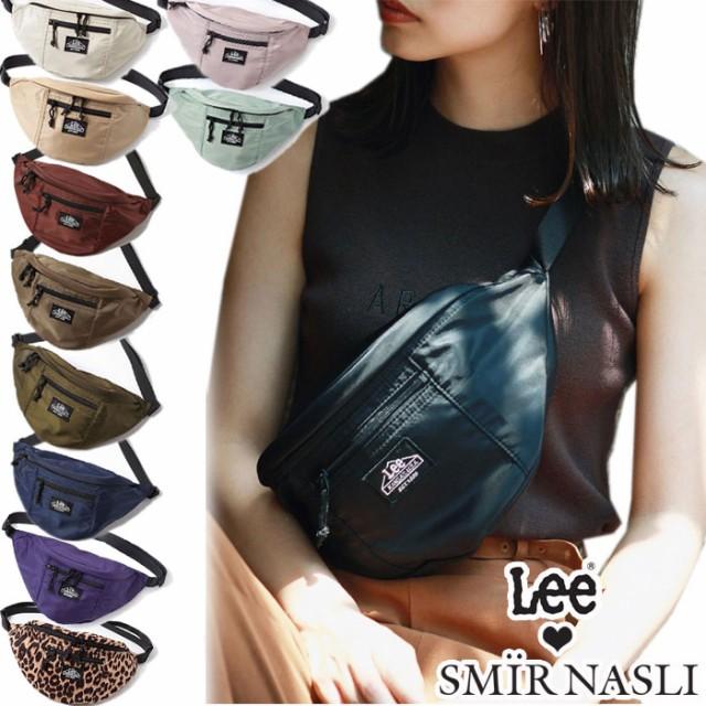 サミールナスリ Lee ウエストバッグ ウエストポーチ ボディバッグ Lee×SMIR NASLI Nylon Body Bag ショルダーバッグ 限定 リー 01130010