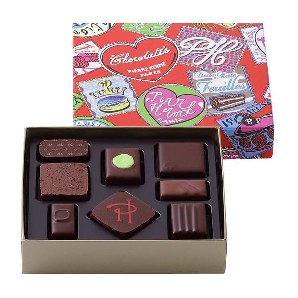 ピエールエルメ パリ チョコレート ショコラ 8個入 バレンタイン ホワイトデー