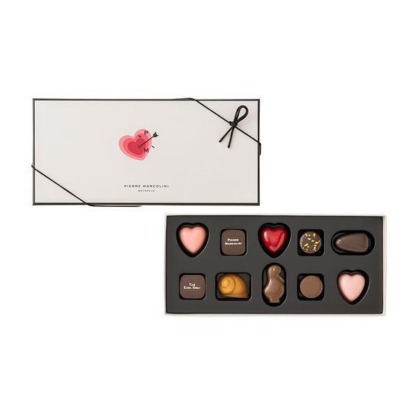 ピエールマルコリーニ チョコレート レ バレンタイン セレクション バレンタイン ホワイトデー (10個入)