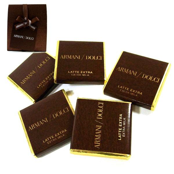 ARMANI DLUCI アルマーニ ドルチ カラク 18枚入り チョコレート 板チョコ 送料無料 代引き料有料 消費税込 バレンタイン