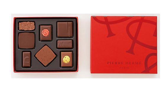 ピエールエルメ パリ チョコレート VT003 テンプル ボンボンショコラ 8個入 バレンタイン ホワイトデー