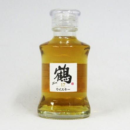 【ミニサイズ】鶴 17年 透明瓶 43度 50ml