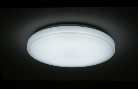 LEDシーリングライト 〜6畳用 調光4段階 一体型引...