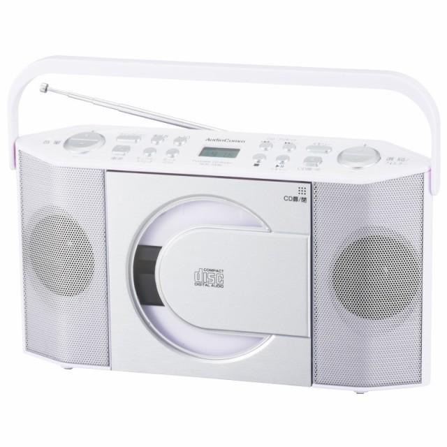 CDラジオ CDプレーヤー AM/FM ワイドFM MP3対応 A...