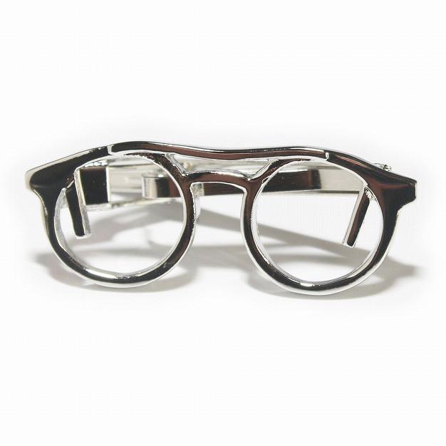 シャイニー眼鏡デザインネクタイピン