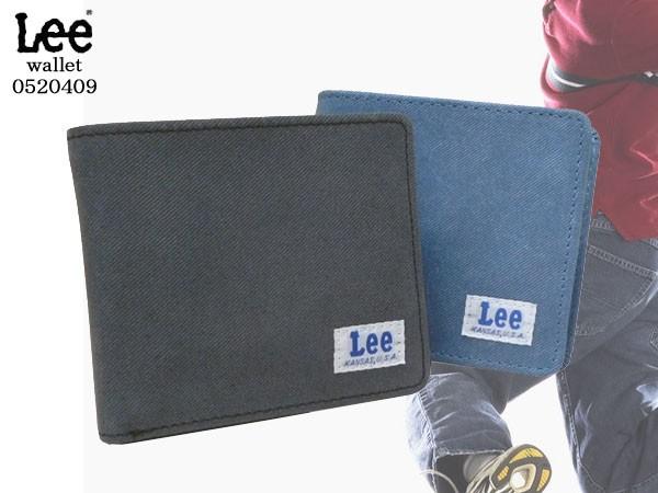 【送料無料】Lee(リー)デニムレザー 折財布  520...