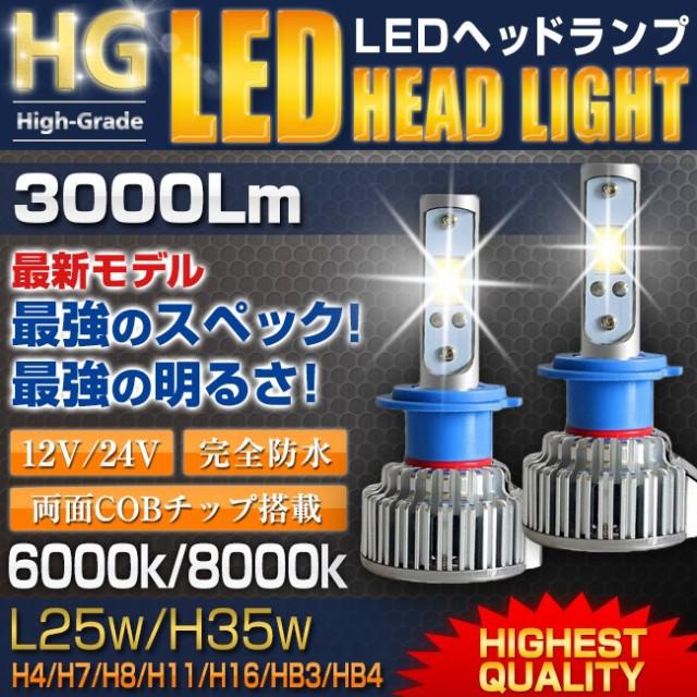 【送料無料】LEDヘッドライト E802 25W H7/H8/...