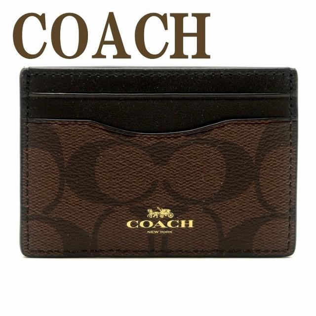 コーチ COACH レディース メンズ カードケース 名...
