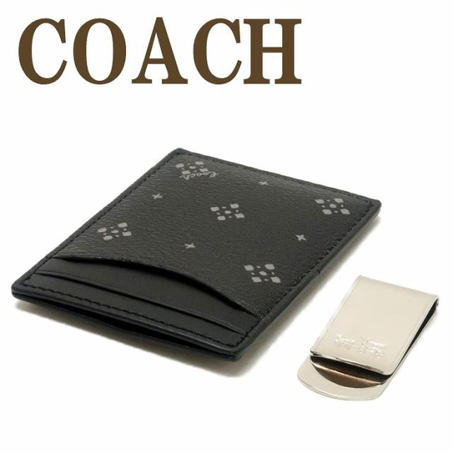コーチ COACH 財布 メンズ マネークリップ カード...