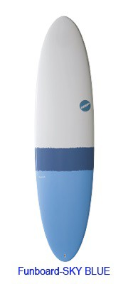 NSP Surfboard EELEMENTS FUN 6.8 SKY Blue◆NSP ...