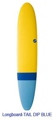 NSP Surfboard EELEMENTS LONG 10.0 Tail DDIP Bl...