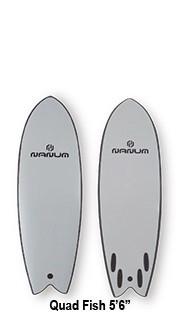 NANUM SOFT Surfboard NANUM Quad Fish 5.6◆スク...