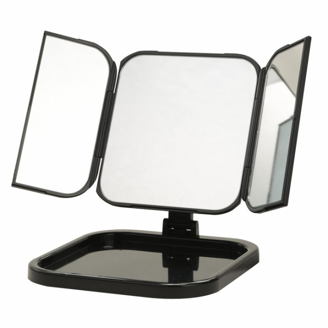 【即納】三面鏡 卓上ミラー WITH ウィズ スリム ...
