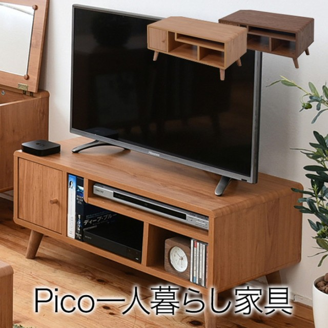pico series tv rack w800 ナチュラル jk-fap-000...