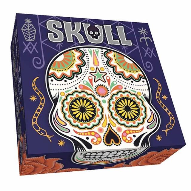 ボードゲーム SKULL(スカル) 日本語版 (ボードゲーム カードゲーム)