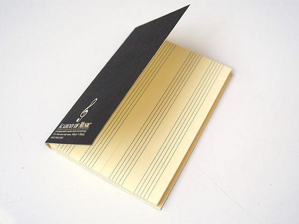 NAKANO(ナカノ) 付箋(五線 50枚×2) 「NBA-34/M」...