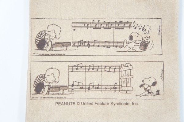 SNOOPY WITH MUSIC「SCLOTH-CM:楽譜柄」 エグゼク...