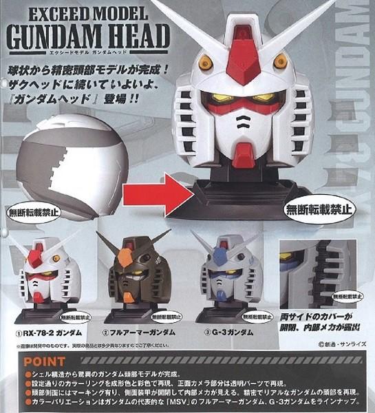 予約 機動戦士ガンダム EXCEED MODEL GUNDAM HEAD...