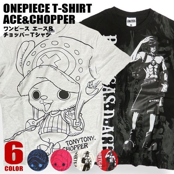 ONE PIECE Tシャツ ワンピース 半袖Tシャツ チョ...