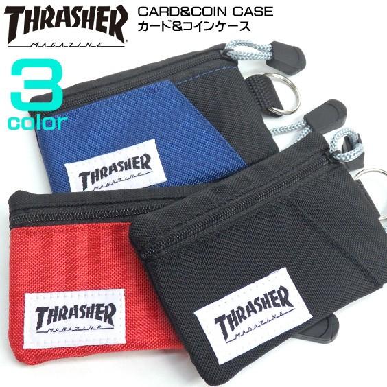 THRASHER カードコインケース スラッシャー カー...