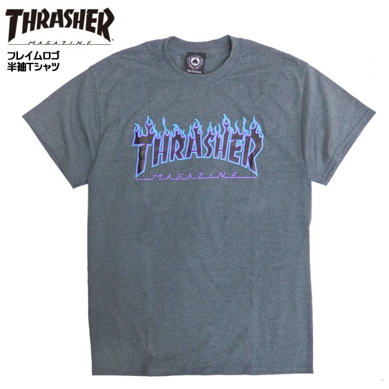 THRASHER Tシャツ 半袖 スラッシャー Tシャツ フ...