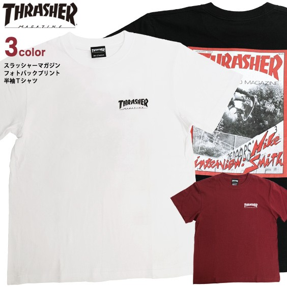 THRASHER Tシャツ スラッシャー フォトプリント ...