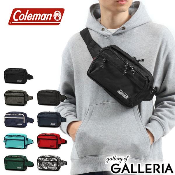 【商品レビューで+5%】コールマン Coleman ウエストバッグ ウエストポーチ WALKER POUCH 2WAY ショルダーバッグ  ウォーカーポーチ