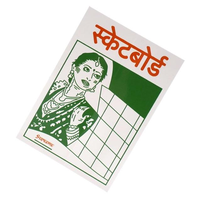 (2019新作)シュプリーム SUPREME Bombay Sticker ...