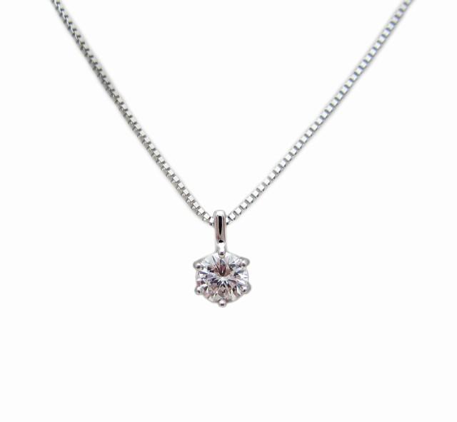 プラチナ ダイヤモンド ペンダント ネックレス 0....