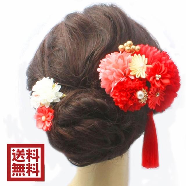 髪飾り 成人式 卒業式 袴 七五三 着物 和装 和柄 ...