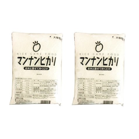 業務用マンナンヒカリ 1kg 2袋セット
