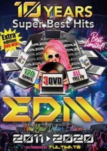 洋楽DVD MixDVD 10 Years Super Best Hits EDM 20...