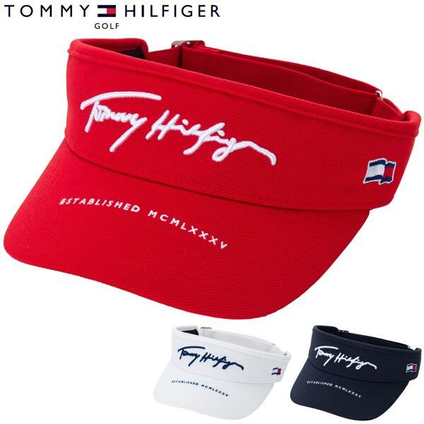 トミーヒルフィガー ゴルフ 鹿の子 バイザー THMB...