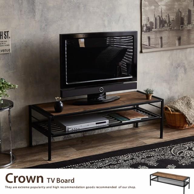 【g108018】テレビボード 収納 ローボード Crown ...