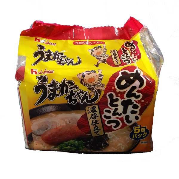 うまかっちゃん めんたいとんこつ 5食 九州の味ラ...