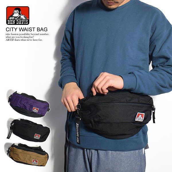 BEN DAVIS ベンデイビス CITY WAIST BAG メンズ ...